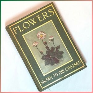 Vintage Accents - Flowers Shown to the Children 1908 - Color Plates